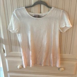 Chico's Short Sleeve Ombré Top